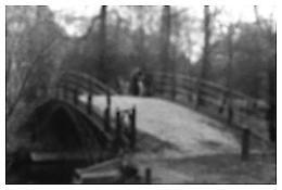 <i>Bridge at Charlottenburg, Berlin</i> 1992 Gelatin-silver print 20 x 24 inches; 51 x 61 cm