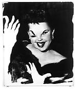 <i>Judy Garland</i> c. 1960 Vintage gelatin silver print mounted on board 23 1/2 x 19 1/4 inches; 60 x 49 cm