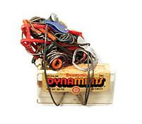 <i>Untitled (Dynamints, Red Wire Bolt and Nut)</i> c. c. 1970 Plastic, metal objects and wire  3 x 4 1/2 x 2 1/2 inches 8 x 11 x 6 cm
