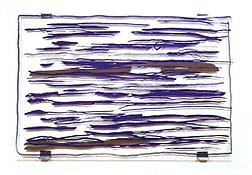 <i>Panorama (Never-the-less)</i> 2000 Silkscreen on plexiglass  61 x 92 1/8 x 2 3/8 inches 155 x 234 x 6 cm