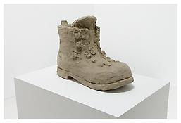 <i>Shoe</i> 2007 Unfired clay 12 x 19 x 7 inches; 31 x 48 x 18 cm
