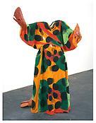 Jack Smith <i>Lobster Costume</i> 1973-1976 Paper mache, glitter, fabric, paint 69 3/4 x 44 x 47 inches; 177 x 112 x 119 cm