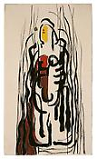 Clyfford Still <i>Untitled</i> 1946 Oil on paper 19 x 11 inches; 48 x 28 cm