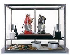 <i>Ibedji (Quick)</i> 1996-97 Mixed media 58 x 15 x 30 inches; 147 x 38 x 76 cm