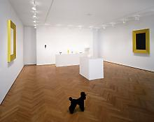 Installation view of <i>Katharina Fritsch: New Work</i> 1018 Madison Avenue