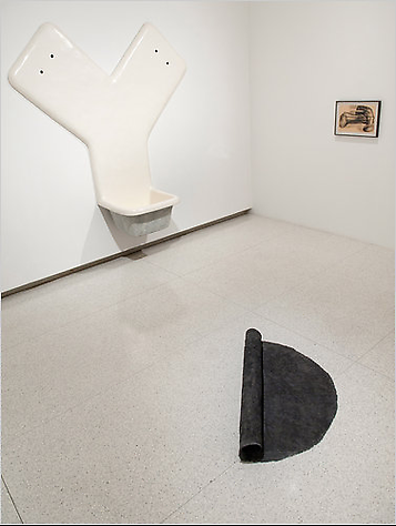 &lt;i&gt;The Subconscious Sink&lt;/I&gt; by Robert Gober, on view at the Walker Art Center. Read more about the installation &lt;a href=&quot;http://www.nytimes.com/2011/06/26/arts/design/john-waters-guest-curator-at-walker-art-center-minneapolis.html?_r=1&amp;emc=eta1&quot;&gt;here.&lt;http://www.nytimes.com/2011/06/26/arts/design/john-waters-guest-curator-at-walker-art-center-minneapolis.html?_r=1&amp;emc=eta1&gt; &lt;/a&gt;