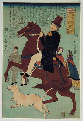 UTAGAWA YOSHIKAZU (act. 1850-70)
