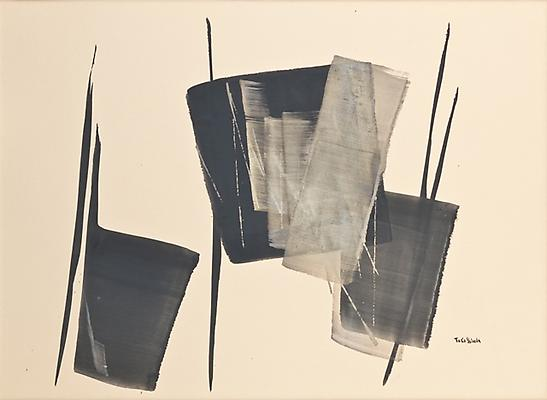 Fugue, 1974 22 x 30 inches