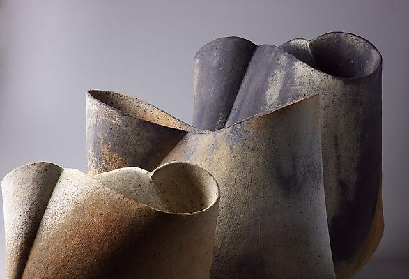 Kodô (Pulse) 2011 Multi-fired unglazed stoneware
