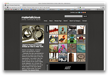 materialicious: shelter, materials & objects