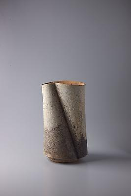 Kodô (Pulse), 2011 Multi-fired unglazed stoneware 14 1/8 x 8 x 7 1/4 inches Inv# 7070 SOLD