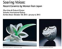 Soaring Voices - Contemporary Japanese Women Ceramic Artists