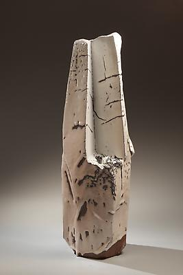 Miwa Kazuhiko (b. 1951) Large sculpture, 2003 Stoneware 30 1/4 h. x 9 1/2 x 10 1/4inches  Inv# 6806 SOLD