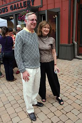 Robert Levine and Joan Mirviss