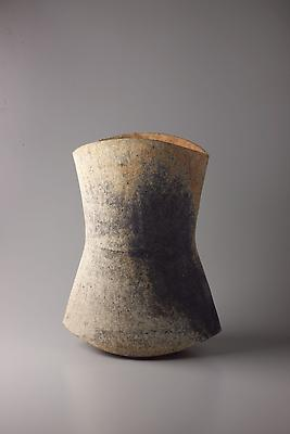 Kodô (Pulse), 2011 Multi-fired unglazed stoneware 17 3/4 x 13 3/8 x 9 1/2 inches Inv# 7064 Sold