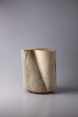 Kodô (Pulse), 2011 Multi-fired unglazed stoneware 12 7/8 x 10 7/8 x 8 1/4 inches Inv# 7072 SOLD