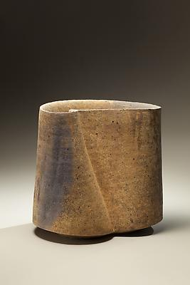Kodô (Pulse), 2011 Multi-fired unglazed stoneware 15 1/8 x 16 1/8 x 11 inches Inv# 7076 SOLD