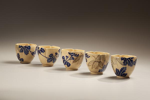 Mizoro-e Style Cups