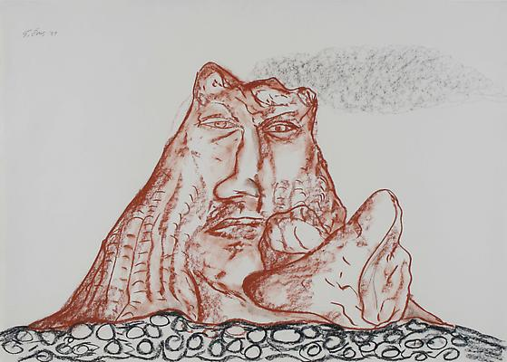 untitled, 1989 ink on paper 64.5 x 85.1 cm (25 ⅜ x 33 ⅟₂ in.)