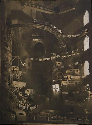 <i>Vaulted Trailerpark</i>, 2010 photogravure on Somerset white 81.3 x 58.4 cm (32 x 23 in.) edition of 7 4,200. € including tax