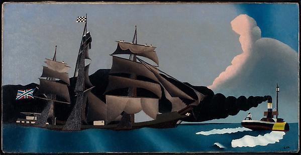 Schiff im Golf von Siam, 1931