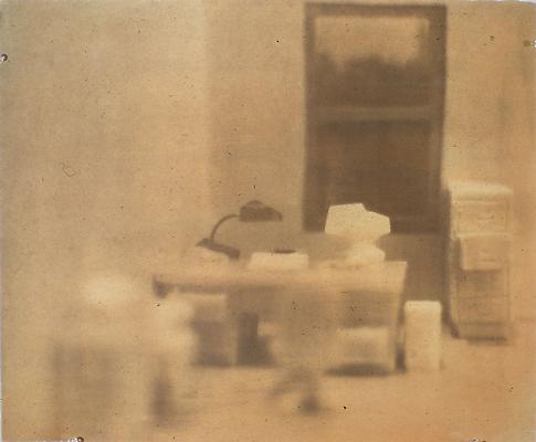<i>Soap Office, 1997</i> gum print on Somerset white paper 48,3 x 58,4 cm  edition of 2 1.750 € including tax