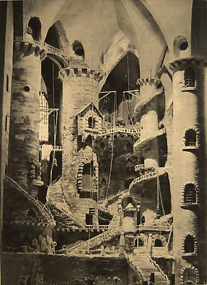 <i>Piranesi (state 1)</i>, 2008 photogravure on Somerset soft white, tea stained  22 x 27.5 in. (55.9 x 69.9 cm) signed and dated lower right 4.300 € including tax