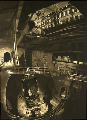 Underneath Brooklyn, 2009 photogravure on Somerset Soft White paper 56,51 x 41,28 cm edition of 7 3,300. € including tax