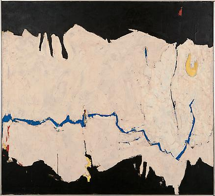 Edward Dugmore (1915-1996) untitled, 1962 Oil on canvas 46 x 50 in. (116.8 x 127 cm) Signed and dated on reverse