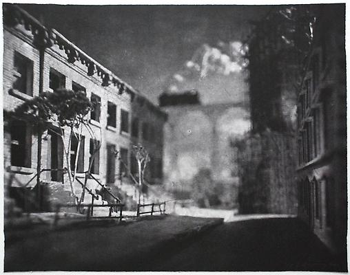 Bridge over Brooklyn, 2007 photogravure on Somerset White paper 48,26 x 63,5 cm 4.200 € including tax