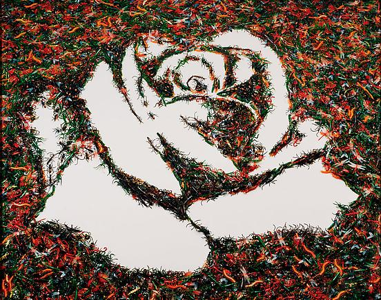 White Rose (from the Monad Series) 2003 Chromogenic print, mounted 92 x 72 inches (233.7 x 182.9 cm)