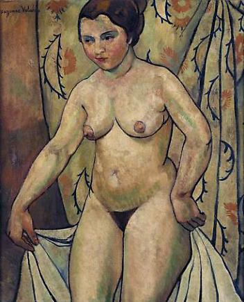 Nude c. 1920 oil on canvas 25. 8 x 21.3 inches (65.5 x 54 cm)