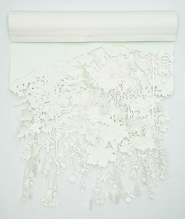 Jolynn Krystosek Wildflower 2 2010 Paper 50 x 42 inches