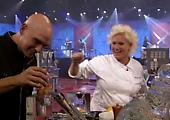 Iron Chef America: Symon/Burrell vs. Cora/Irvine