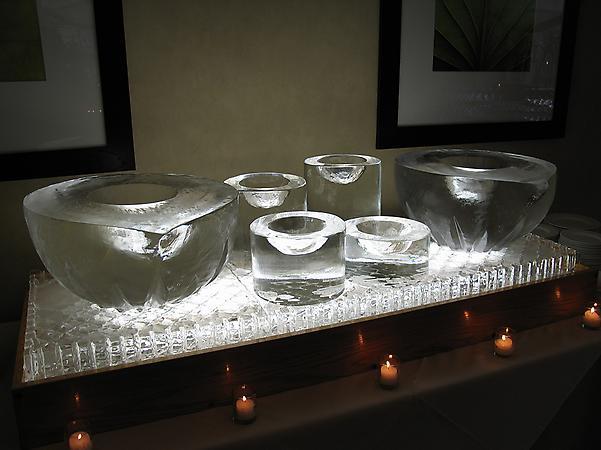Teardrop Bowls & Pillars