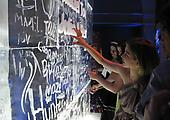 Graffiti Ice Wall