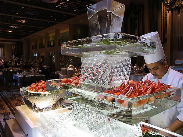 Three Tier Cascade Raw Bar