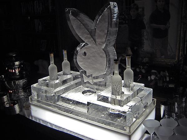 Playboy Vodka & Caviar Presentation