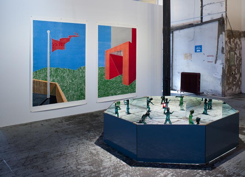 Thomas Schütte, Installation, 140 Grand Street<br />