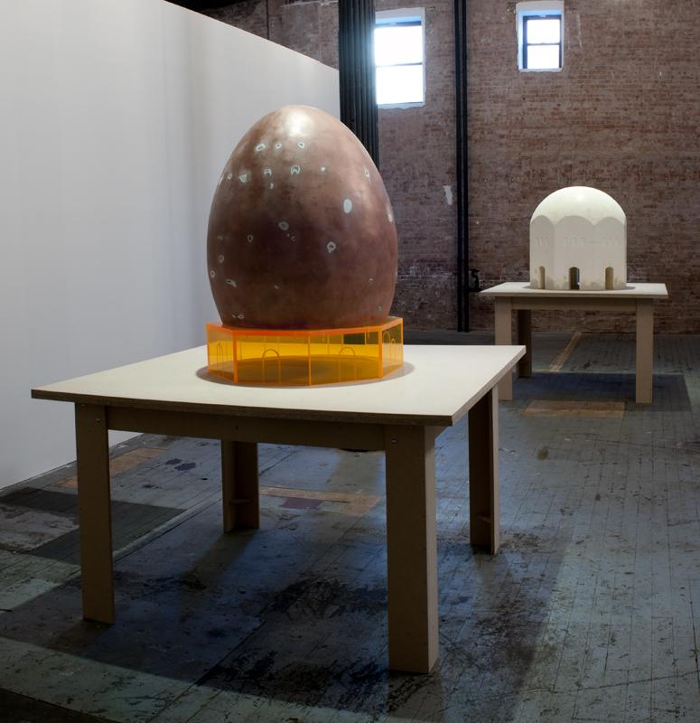 Thomas Schütte, Installation, 140 Grand Street<br />