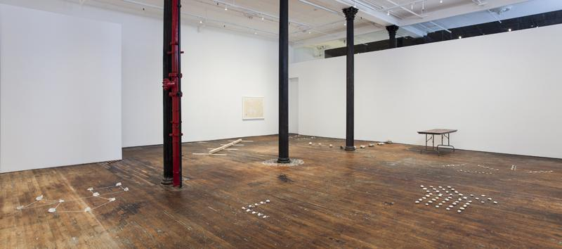 Installation: <i>Mel Bochner: Proposition and Process: A Theory of Sculpture (1968 - 1973)</i> photo © James Powers<br />