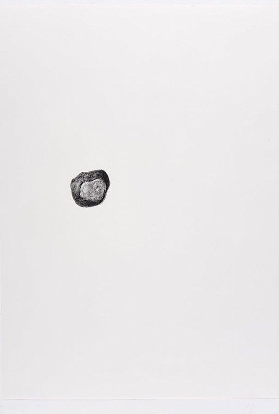 Silvia Bächli<br />Untitled<br />2007<br />crayon on paper<br />16 1/2 x 24 3/8 inches<br />  (44 x 31 cm)<br />PF1341<br />