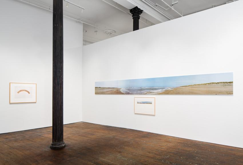 Jan Dibbets<br /><br />Installation view<br />Peter Freeman, Inc.<br />November 2015<br />