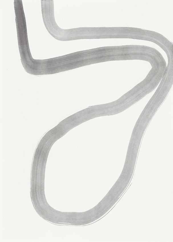 Silvia Bächli<br />Untitled<br />2010<br />gouache on paper<br />13 3/4 x 9 7/8 inches (35 x 25 cm) <br />PF1995<br />