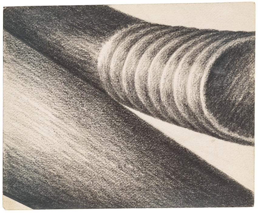 LEE LOZANO (1930 – 1999)<br /><br />Group of 19 works on paper and <br />   private correspondence between <br />   the artist and Richard Bellamy<br />(9 of the 19 are on view)<br />c. 1964 – 1971<br />dimensions vary<br /><br />Private collection, New York<br />