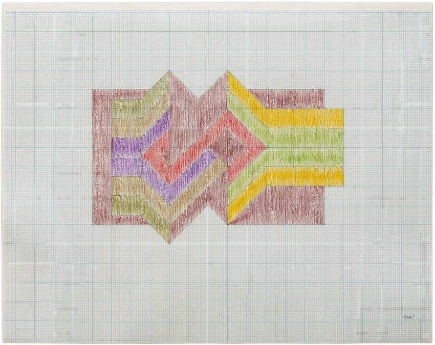 NEIL WILLIAMS (1934 – 1988)<br /><br /><i>Untitled 6591</i><br />c. 1965<br />crayon and graphite on paper<br />17 1/2 x 22 inches<br />  (44.5 x 55.9 cm)<br /><br />Courtesy Mark Borghi Fine Art<br />
