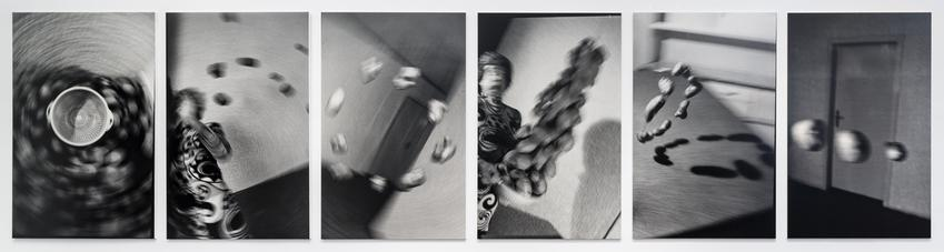 <u>Küchenkoller</u><br />1985/2016<br />6 gelatin silver prints mounted on foam core<br />each: 78 3/4 x 49 9/16 inches<br />  (200 x 126 cm)<br />PF4147<br />