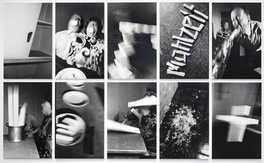 <u>Mahlzeit</u><br />1989<br />10 vintage gelatin silver prints mounted on foam core and Plexiglas<br />each: 49 5/8 x 31 15/16 inches<br />  (126 x 81.1 cm)<br />PF4177<br />