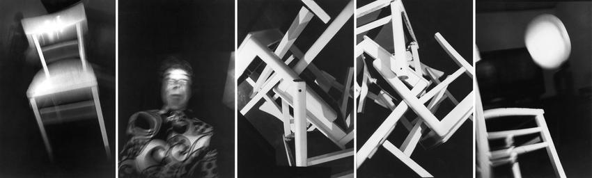 <u>Mediumismus III</u><br />1986<br />5 gelatin silver prints<br />each: 57 1/4 x 37 1/4 inches<br />  (145.5 x 94.5 cm)<br />PF3732<br />