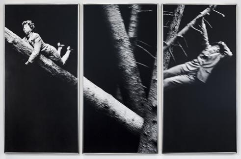 <u>Hansel und Gretel</u><br />1990/1991<br />3 gelatin silver prints<br />each: 35 5/16 x 17 5/8 inches<br />  (89.7 x 44.8 cm)<br />PF4178<br />